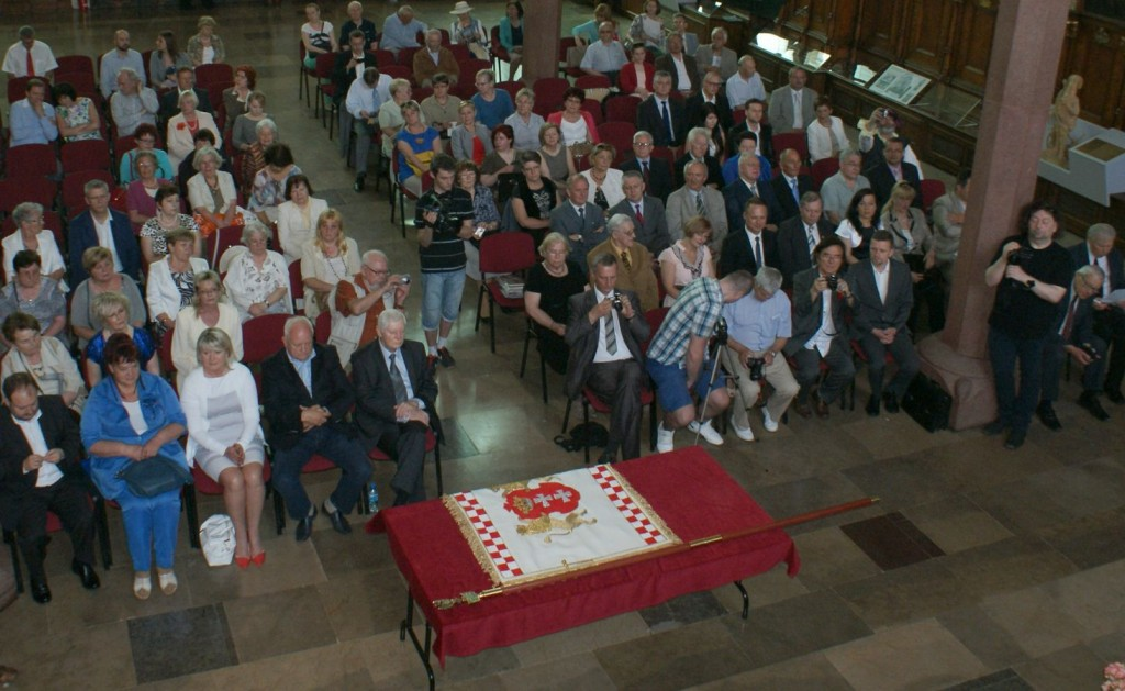 Sztandar Stowarzyszenia NASZ GDAŃSK. Fot. J. Wikowski