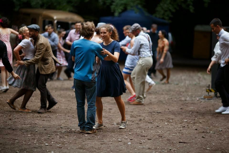 swing Potańcówka w Teatrze Leśnym do muzyki Old Timers bisom nie było końca
