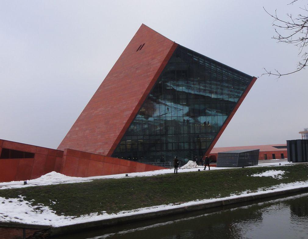 muzeum 1. Gmach Muzeum na Wiadrowni kadr