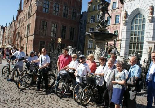 Zwiedzanie Gdańska na rowerze