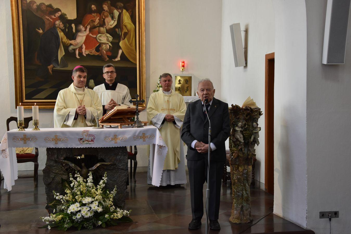Msza św. w Kaplicy Królewskiej fot. J. Wikowski A31_7079
