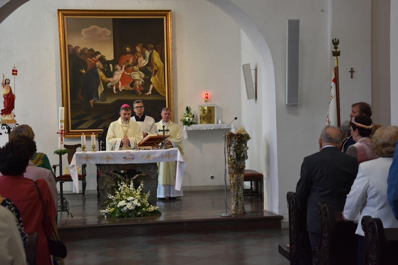 Msza św. w Kaplicy Królewskiej fot. J. Wikowski A31_7092