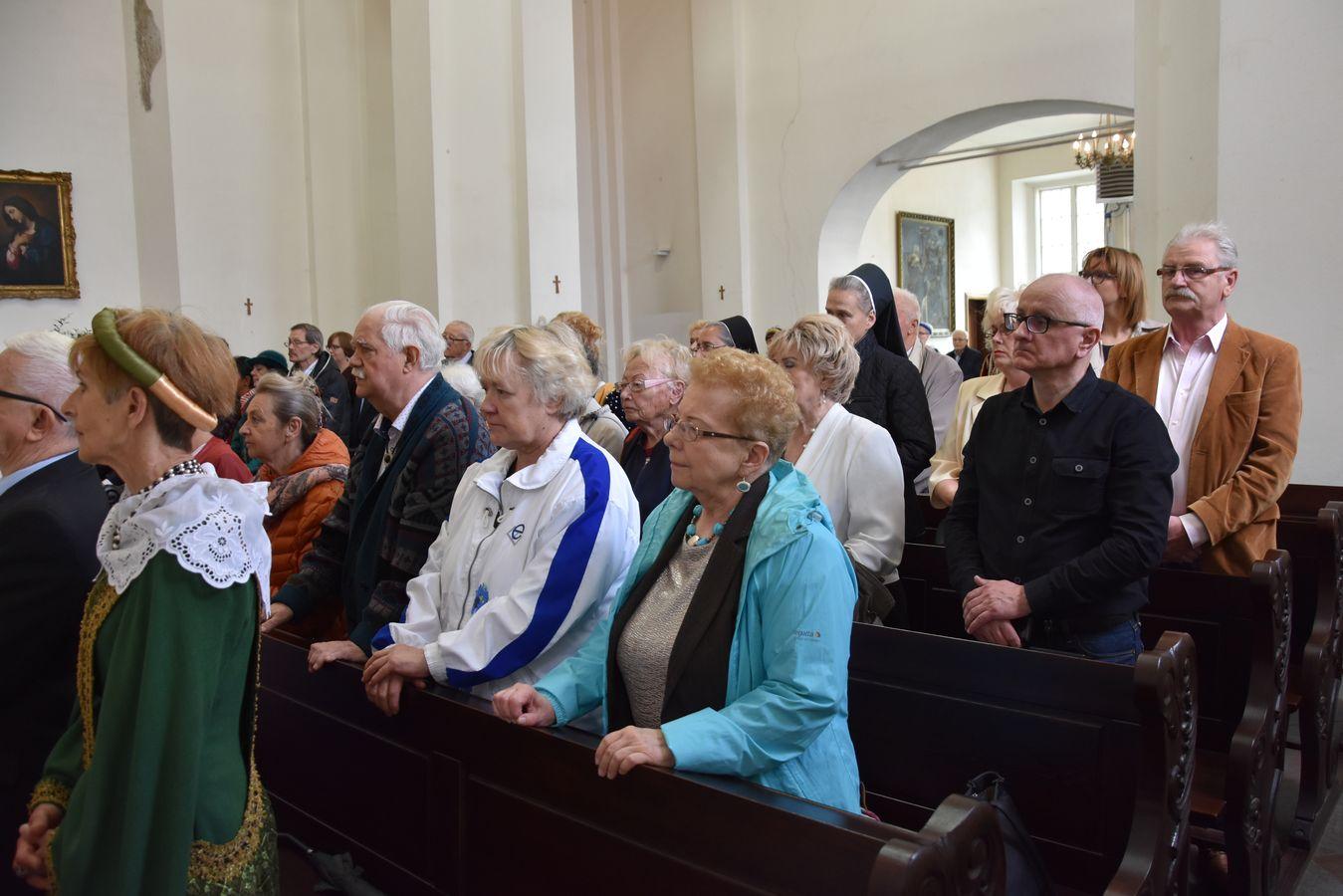 Msza św. w Kaplicy Królewskiej fot. J. Wikowski A31_7095