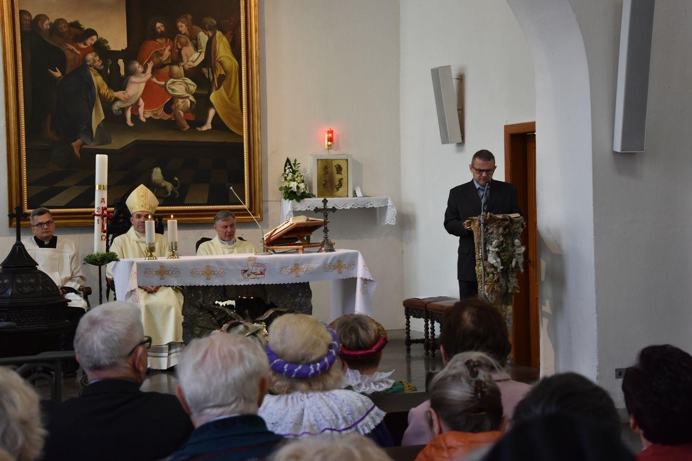 Msza św. w Kaplicy Królewskiej fot. J. Wikowski A31_7102