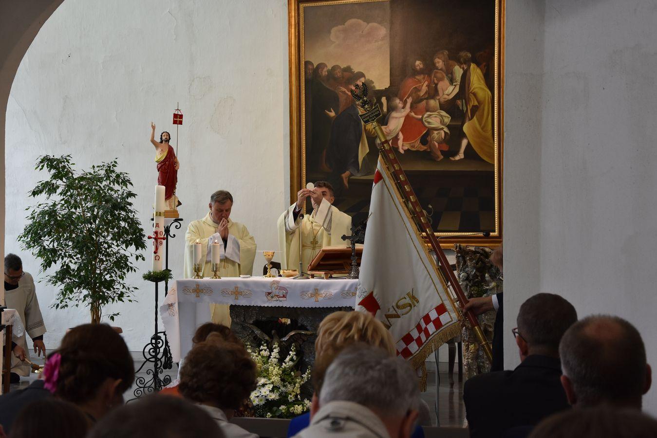 Msza św. w Kaplicy Królewskiej fot. J. Wikowski A31_7147