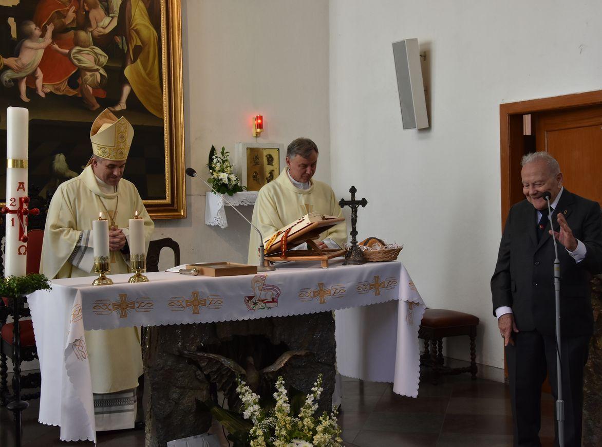 Msza św. w Kaplicy Królewskiej fot. J. Wikowski A31_7165